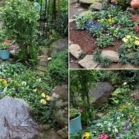1⃣庭先メインの花で彩る花壇コーナー 📷...