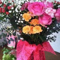 R2.4.5 妻に贈った花束💐の今 仏壇と玄関...