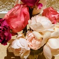 🌹 花が重くて、枝のために切り花にしま...