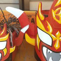 ライガー祭りか🤣  左は前に木材で作った...