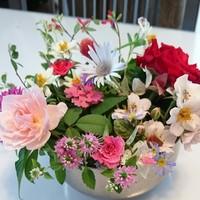 我が家の庭の花達、摘んできてキッチン...
