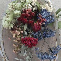 ドライフラワーでつくる花束💐 母の日プ...