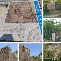 岡山県津山市の津山城です。  階段の石...