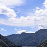 徳山ダム 9.19 ドライブ  秋空秋風