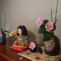 🎍茶箪笥上の御正月飾りもそろそろお片付...
