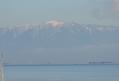 琵琶湖で蜃気楼が見えました?