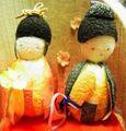 竹取物語の雛人形