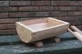 小形樽型プランター制作
