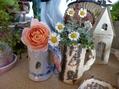 陶芸とノジギク