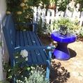 「青いベンチ」エリア、ディスプレイ中✩