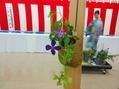 七夕茶会の花