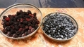 ベリー類の収穫