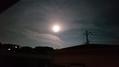 満月が美しいです。