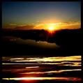 傘富士と白鷺と朝焼け。ウォーキングMS④194日目(1289日目)