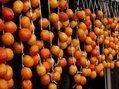 干し柿と落花生