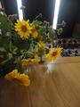 皇帝ひまわりの花束
