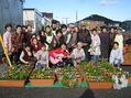 石巻で『ふれあい園芸教室』を行ってきました。
