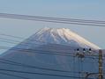 北は富士山