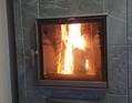 お待たせしました、暖炉です