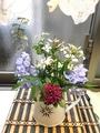 庭の花を飾りました 2  追記あり〼