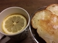庭のレモンでお正月