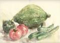 夏野菜のデッサン