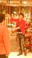 本日は梅田の阪急百貨店の10Fのジークウメダさんでマイクパフォーマンスをしておりました。