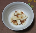 本日の夕食(長芋)
