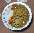 本日の夕食(レンコン)