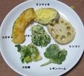 本日の夕食(レモンバーム)