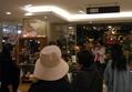 梅田の阪急百貨店のG9さんで接客とトークをしておりました。