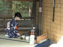 「茶会(野点)」9/30、10/1 10:00~15:00