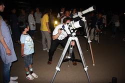 月の観察会