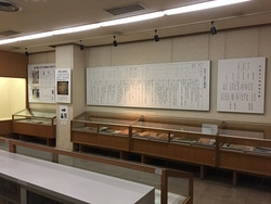 東山動植物園の植物会館1階にある「伊藤圭介記念室」。伊藤圭介に由来する様々な情報が集まっている