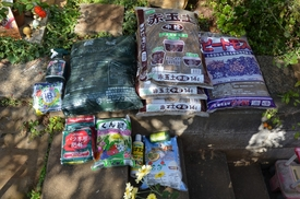 バラの用土&肥料の記録 2015年12月購入資材