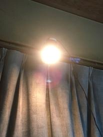 パキポディウム種まき 日照不足補助と加温も兼ねてヒヨコ電球照射