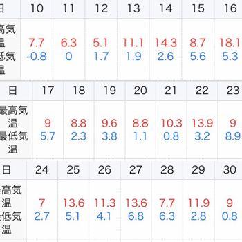 鳳凰木ベビー22株はじめての越冬(屋外) 1月その後の最低気温