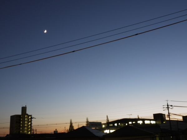晩秋。初冬。
