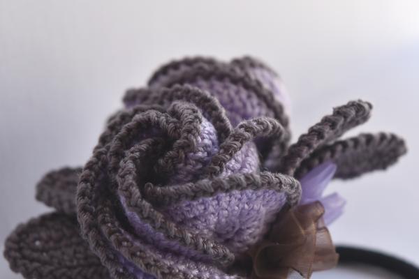 ヘアゴム しぶめカラーで編み上げ♪